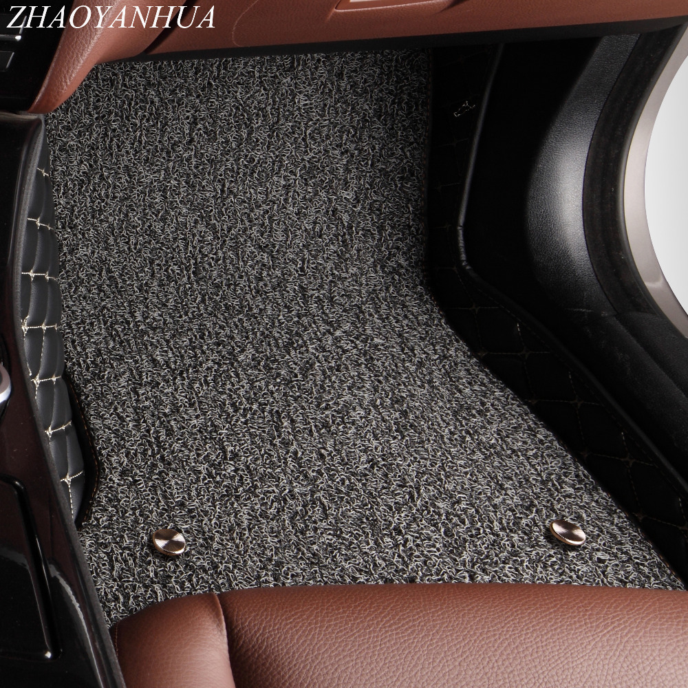 ZHAOYANHUA Car floor mats for Mercedes Benz 463 G class 280 320 350 500 G320 G350 G500 G55 G63 AMG car styling carpet rugs