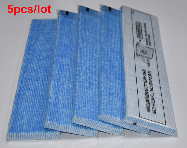 5pcs Air Purifier Filter Replacements Parts for DaiKin MC70KMV2 series MC70KMV2N MC70KMV2R MC70KMV2A MC70KMV2K MC709MV2