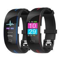 H66 Blood Pressure SmartBand Heart Rate Monitor PPG ECG Smart Bracelet P3 Activit fitness Tracker Watch Intelligent Wristband