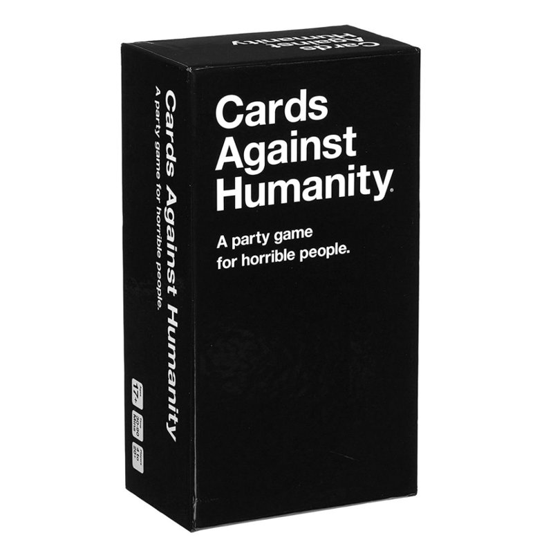 Top Game Cards Against Humanity Playing Cards Durable Paper Card Board Games Christmas Gift Fun Party Games 550pcs Card deep sea adventure board game with english instructions funny cards game 2 6 players family party game for children best gift