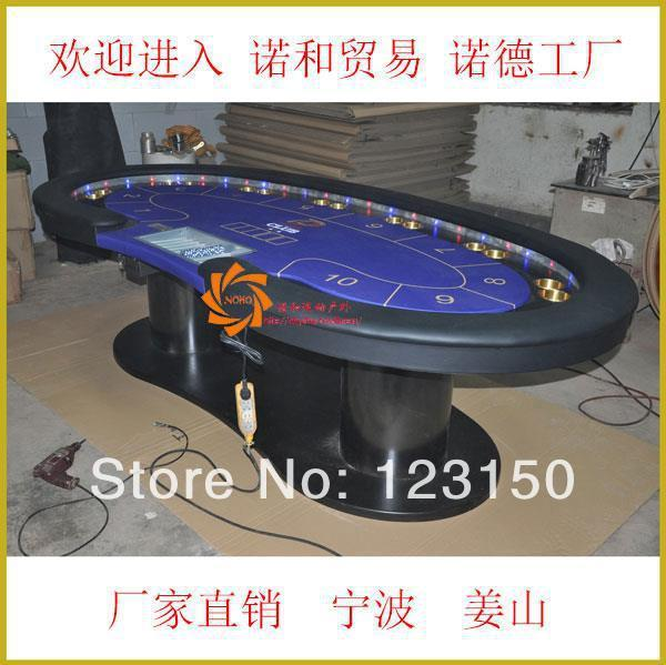 PT-007 Poker table, deluxe gambling table, customize your own table