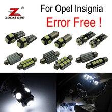 ZOOMSEEZ 22 шт. номерной знак лампа для Opel для Insignia Седан Estate хэтчбек спортивного светодиодный лампы Интерьер свет комплект (08-16)