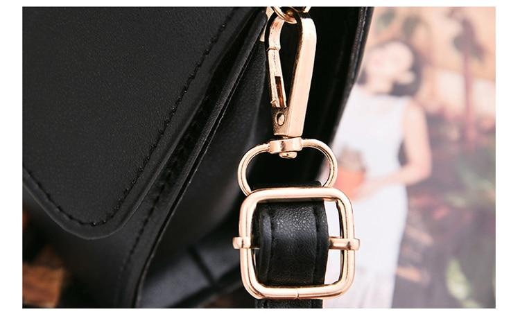 Women Bag Leather Handbags PU Shoulder Bag Small Flap Crossbody Bags for Women Messenger Bags 34