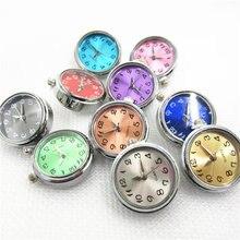 Новинка хит продаж 6 шт/лот Разноцветные часы кнопки для 18