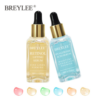 BREYLEE 2pcs Lifting Serum Face Facial Collagen Firming Essence Skin Care Whitening Anti aging Anti Wrinkle