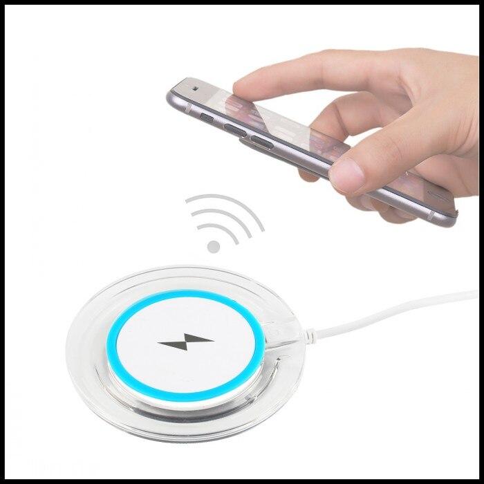 bilder für Wireless-ladegerät Für iPhone 5 5C Telefon Lade Bank Mobile abnehmbare Power Wireless Charging Pad Für iPhone 6 S 6 S Plus 7