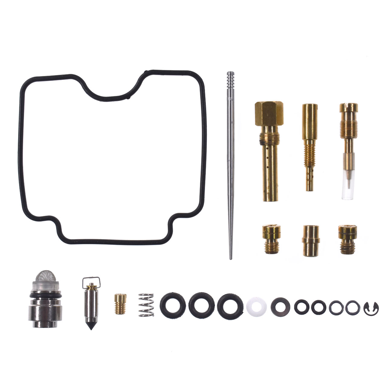 Carburetor Repair Rebuild Kit Fits Yamaha YFM400 Big Bear