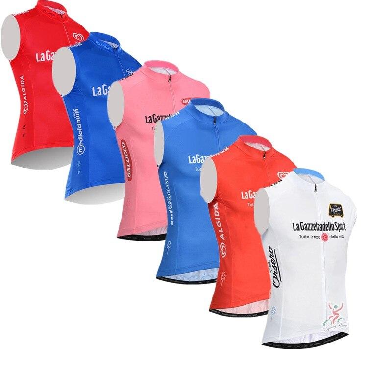 nueva alta calidad mejor online liberar información sobre 2019 Tour de Italia verano bicicleta de carreras Ropa Pro equipo Ciclismo  jersey sin mangas ...