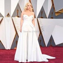 Gaga оскар знаменитости lady феста формальный вечернее ковер часть два партии