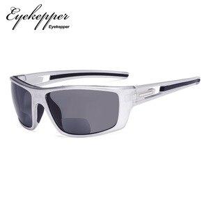 Image 4 - S066 Bifocal   Eyekepper Bifocal Sun Readers Reading Sunglasses for Sports TR90