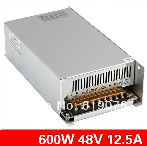 600W  48V Single Output Switching power supply for  FSDY  AC to DC led S-600-48 145w 15v single output switching power supply for fsdy ac to dc