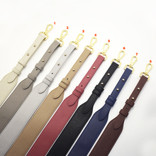 Bag Strap Gold Buckle Handbag Straps Replacement Parts Bag Belts Leather Handles for Women Shoulder Bags Accessories 96cm недорго, оригинальная цена
