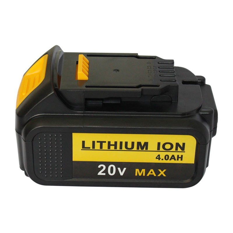 20v 4 0ah Lithium Ion Rechargeable Battery With Fuel Gauge