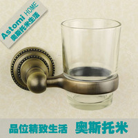 Fashion Antique Copper Toothbrush Cup Holder Single Cup Holder Tumbler Holder Ast3170