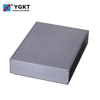 256*70.2-N mm (W-H-L)aluminum junction housing/electronics wall mounting case/enclosure with anodizing for pcb/project box