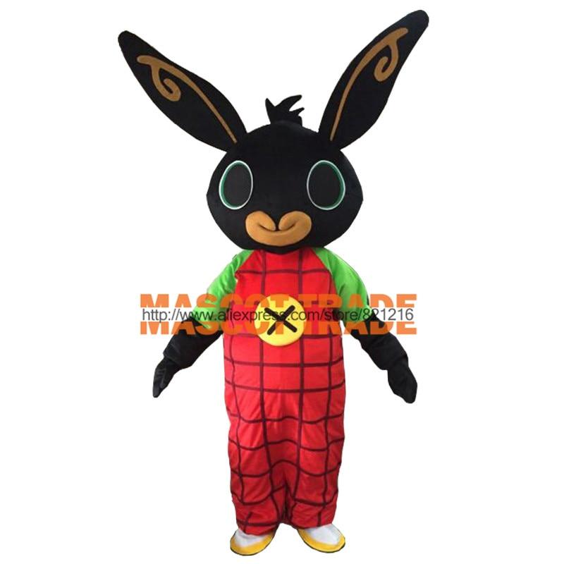 shot rabbit BING Mascot costume Fancy Dress Christmas Cosplay