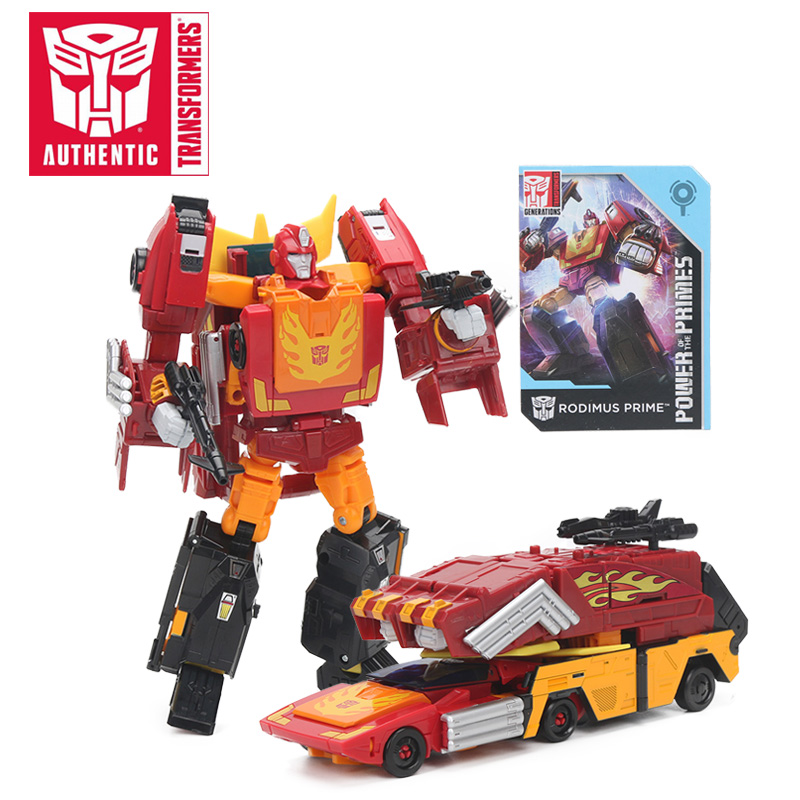 22CM Transformers Toys Generations Power of the Primes Leader Evolution Rodimus Prime Action Figure Collection Model Dolls Toy цены
