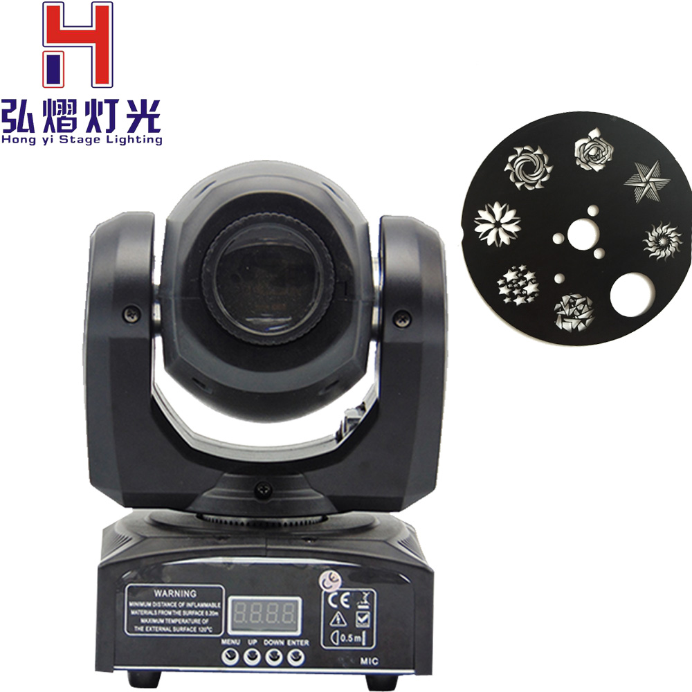 (1 pieces/lot) led moving head LED Inno Pocket Spot Mini Moving Head Light 30W DMX dj 8 gobos effect stage lights цены онлайн