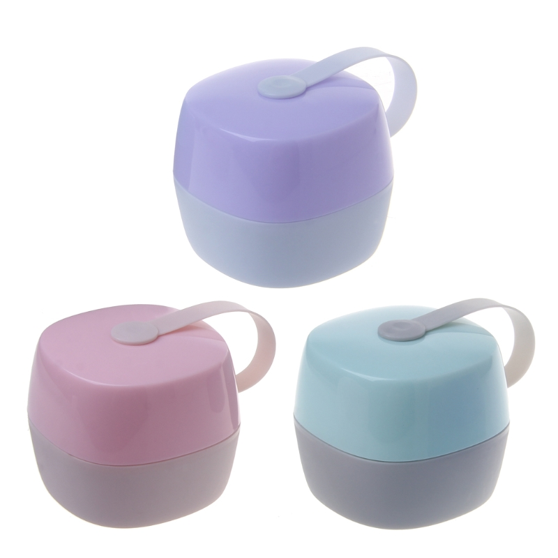 Fashion Portable Baby Infant Kids Pacifier Nipple Cradle Case Holder Travel Storage Box JUN26-A