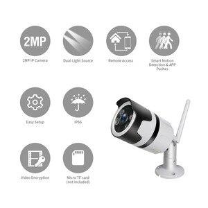 Image 2 - TMEZON IP Camera  Outdoor Waterproof HD Video Surveillance Security Camera Built in SD Card Slot 1080P Wireless WIFI Camera