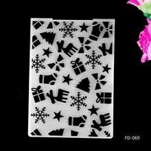 2017 New Arrival Scrapbook Presents design DIY Paper cutting dies SCRAPBOOKING PLASTIC EMBOSSING FOLDER EF01