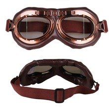 1 pcs clear Pilot Flying Goggles Motorcycle Biker Motocross Cruisers Sun UV Wind Eye Protect Helmet Ski glasses