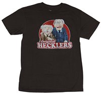 2017 New Arrival Funny Print T Shirt Fashion Short Sleeve The Muppets Mens T-shirt - Hecklers Old Men Image