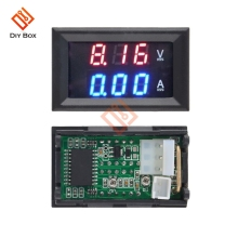 цена на Mini Digital Voltmeter Ammeter DC 100V 10A Panel Amp Volt Current Meter Tester 0.28