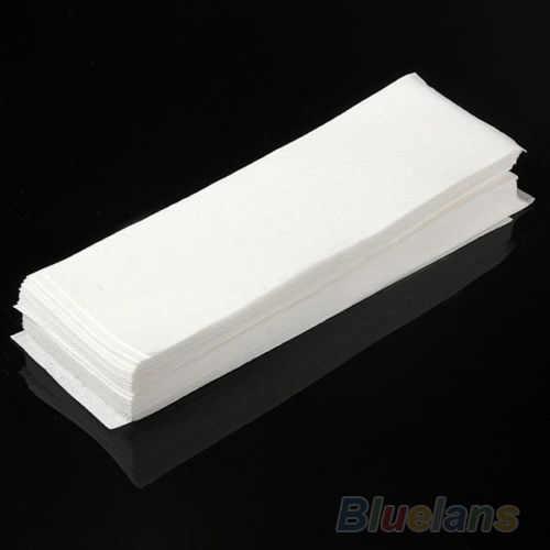 80 adet Epilasyon Tüy Dökücü kağıt Nonwoven Epilatör balmumu şerit kağıt rulosu Ağda