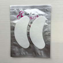 100pairs Discount High Quality Disposable Collagen Eye mask lint Free patch Eyepads for eyelash Extension Ship