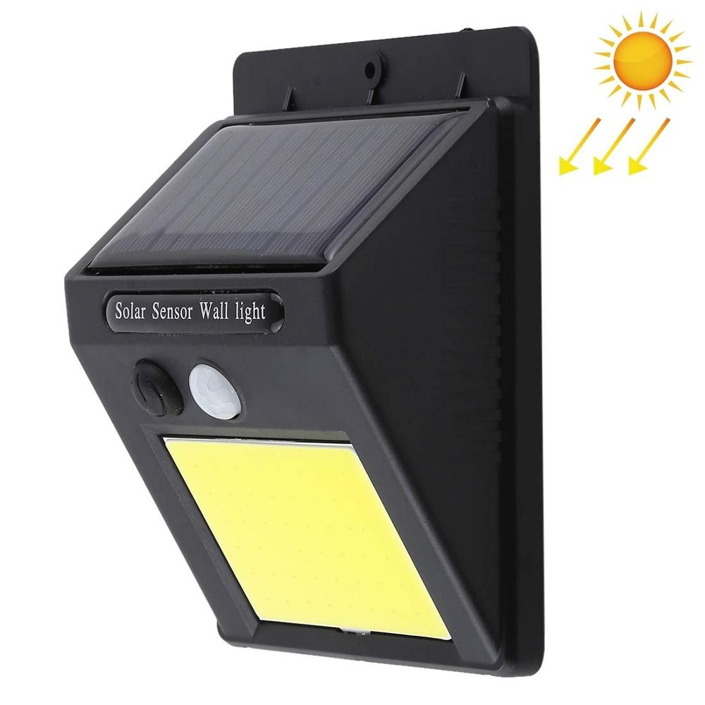 48 LED COB Solar Lights Outdoor Waterproof  Solar Motion Sensor Wall Light Security Lighting With Easy Install For Patio Yard