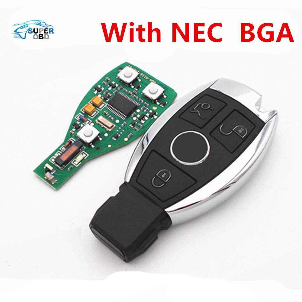3 buttons car smart remote key for mercedes benz year 2000 nec bga style auto remote key. Black Bedroom Furniture Sets. Home Design Ideas