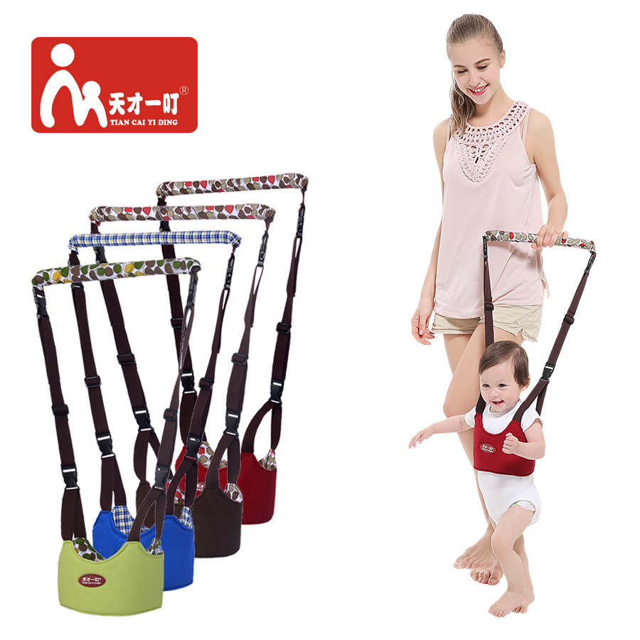 Baby Safe Walking Belt Toddler Kids Learning Adjustable Strap Harness Stick Sling Boy Girs Aid Walking Assistant Belt Wings