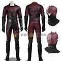 Halloween costume for adult men Superhero costumes Daredevil  Matt Murdock Daredevil Cosplay costume leather Daredevil hat