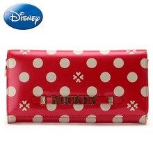 2019 Disney New Women Handbag-Wallet Fashion-Wallet Female Long Pu Zipper Pouch Casual Girl Purse-Card Lady Party-Wallets Holder цены