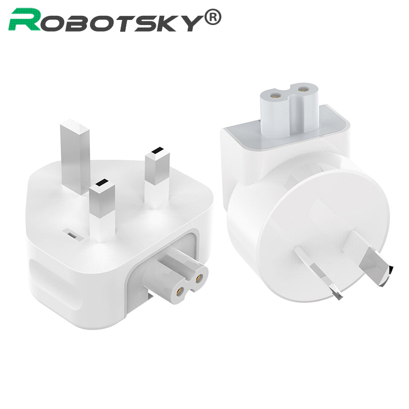 Wall AC Detachable Electrical UK AU Plug Duck Head Power Adapter For Apple IPad IPhone USB Charger MacBook