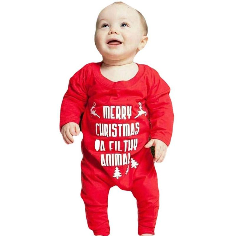 Baby clothing Rompers Christmas infant boys girls clothes cotton newborn Jumpsuits Roupas Bebes Infant Clothes Long Sleeve R4 sanlutoz baby rompers set newborn clothes baby clothing boys girls brand cotton jumpsuits long sleeve overalls coveralls winter