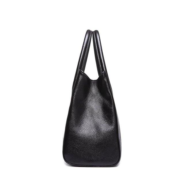 New Boston Simply Classic Fashion 100% Genuine Leather Women Messenger Bags Ladies Tote Handbag Bag Purse Satchel Bolsa Feminina