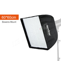 Godox Umbrella Convenient And Fast Style Octagonal 60 60cm SoftBox For Studio Flash With Bowen Mount