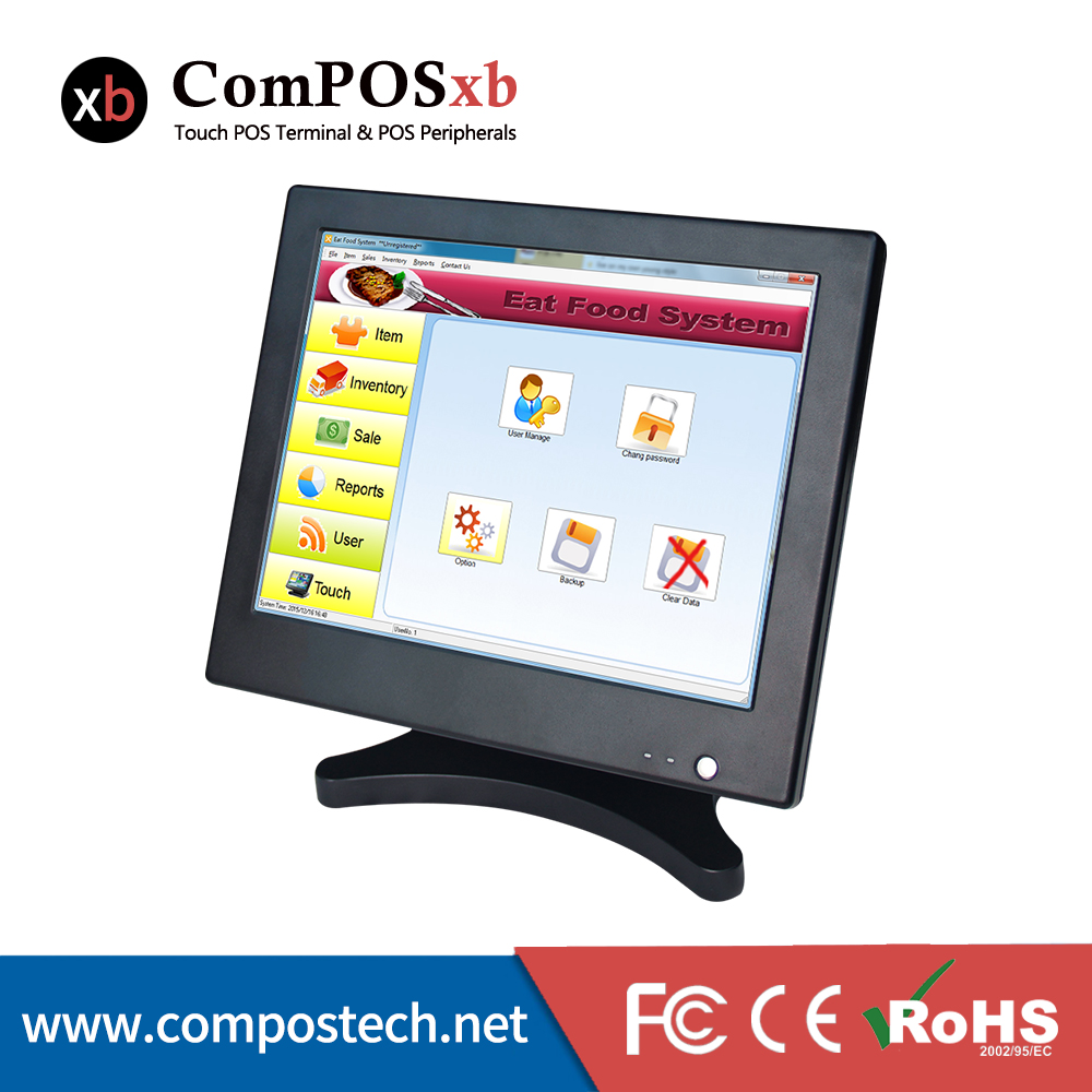 Newest Ordering Pos Terminal All In One Touch Screen Pos Machine Best Quality Cash Compu ...