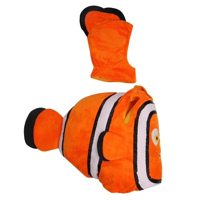Novelty & Special Use ...  ... 32816735272 ... 3 ... Deluxe Adorable Child Clownfish From Pixar Animated Film Finding Nemo Little Baby Fishy Halloween Cosplay Costume Age 2-7 Years ...