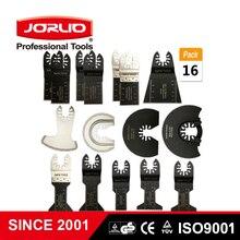 16Pcs Oscillerende Multi Functie Universele Zaagblad Carbon Staal Cutter Voor Diy Vernieuwer