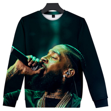 2019 3D Rep nipsey hussle Print  Women and men Casual Clothes New Hot Sale Spring Hoodies Sweatshirts Plus Size 4xl