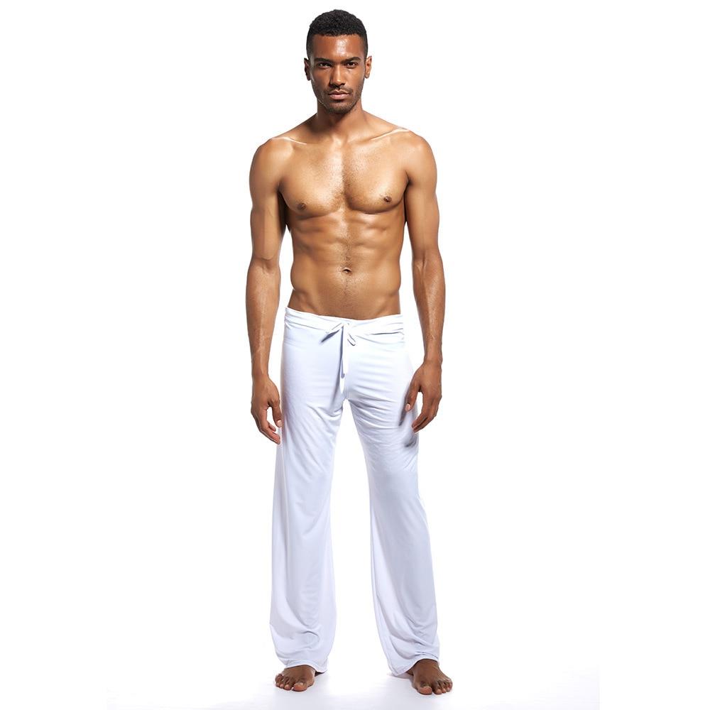 Men's Sleep Bottoms Pajamas Lounge Pants Sleepwear Comfortable Male Home Wear Sexy Loose Underwear Pyjamas Trousers Plus Size