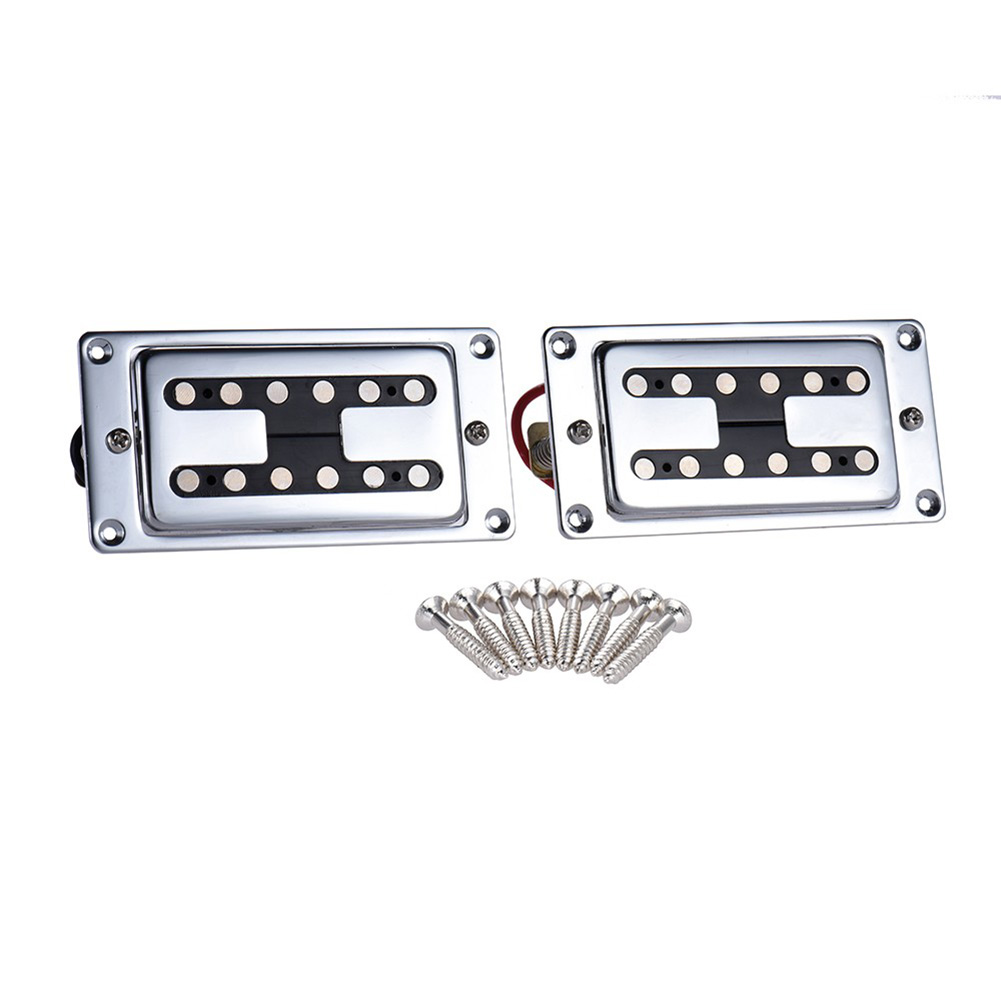 купить Homeland 1 Pair Double Coil Guitar Sealed Humbucker Pickups Pick-ups For LP Electric Guitars With Mounting Screws Guitar Part по цене 2091.68 рублей