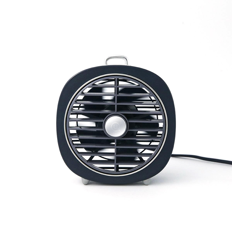 HOT Portable Rechargeable Mini Usb Fan Led Night Light 3 Speed Desktop Desk Table Home Office Student Dormitory Electric Small in Fans from Home Appliances