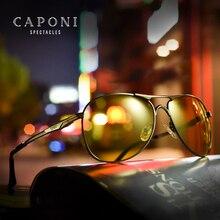 CAPONI New Driving Photochromic Sunglasses Men Polarized Discoloration Sun glasses For Men Oculos De Sol Masculino BSYS8722