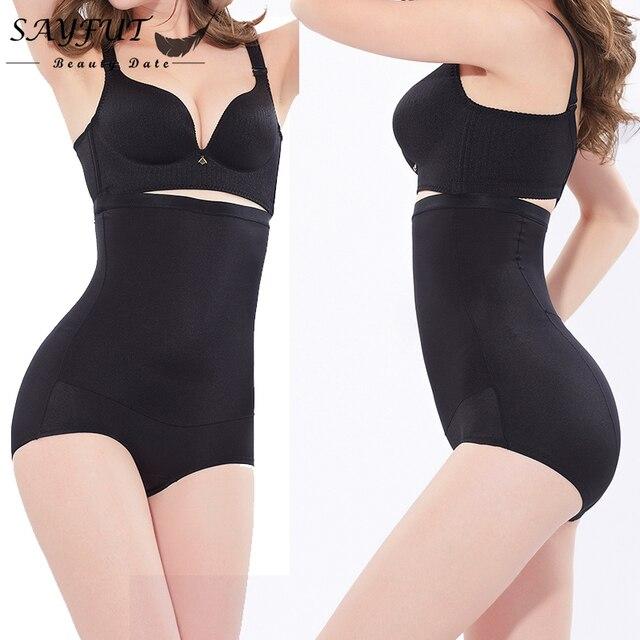 1be29bac5 Women s Sexy Sliming Body Shaper Postpartum Pants Shapewear Bodysuit High  Control Butt Enhancer Waist Trainer Briefs Underwear