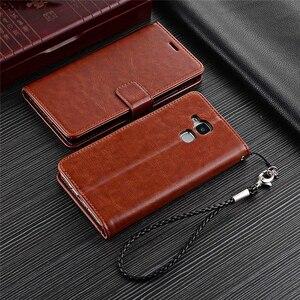 Image 5 - Fundas Huawei Honor 5C porte carte housse pour Huawei Honor 5C Pu cuir étui de téléphone portefeuille housse à rabat qualité étui sacs