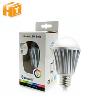 Bluetooth LED Bulb 7 5W E27 RGBW Bluetooth 4 0 Smart LED Light Color Change Dimmable